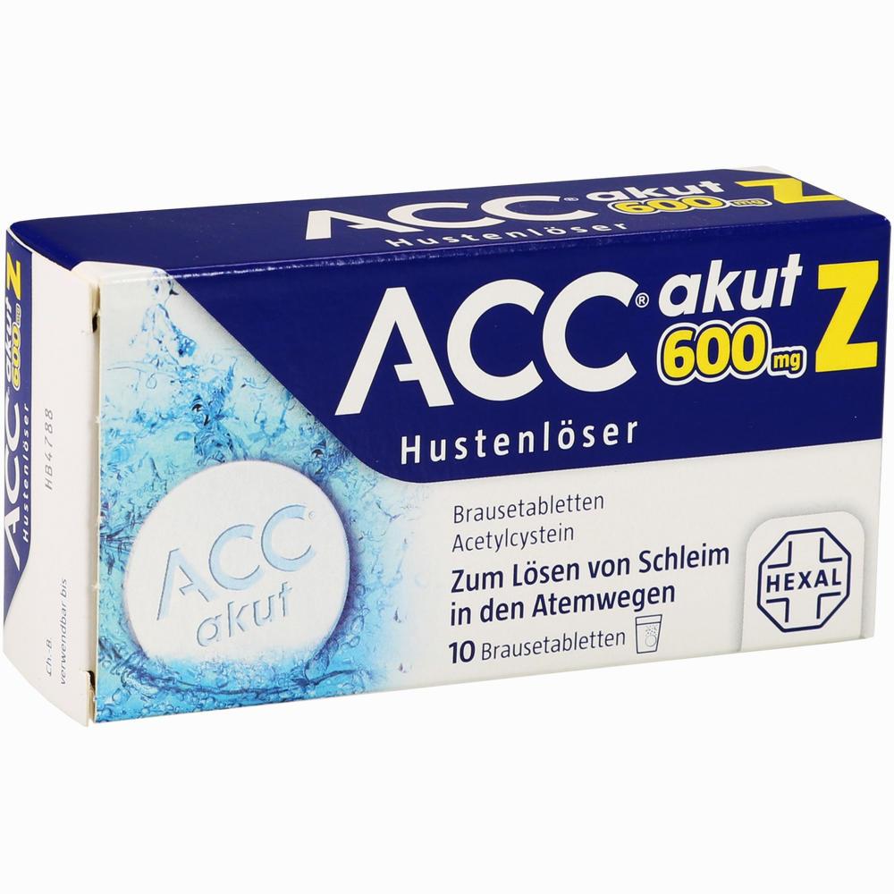 Acc Akut 600 Z Hustenlöser Brausetabletten Erfahrungen