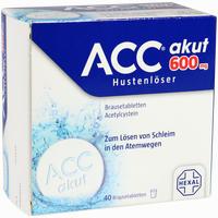 Abbildung von Acc Akut 600mg Brausetabletten 40 Stück