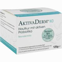 Abbildung von Aktivaderm Nd Neurodermitis Hautkur Aktiv Probiotika Pulver 125 g