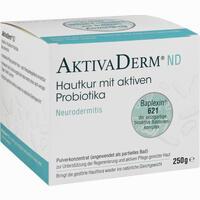 Abbildung von Aktivaderm Nd Neurodermitis Hautkur Aktiv Probiotika Pulver 250 g