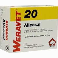 Abbildung von Alleosal 20 Vet Ampullen 10 x 2 ml