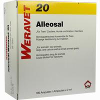 Abbildung von Alleosal 20 Vet Ampullen 100 x 2 ml