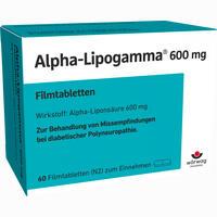 Abbildung von Alpha- Lipogamma 600mg Filmtabletten  60 Stück