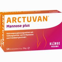 Abbildung von Arctuvan Mannose Plus Pulver 14 x 5 g