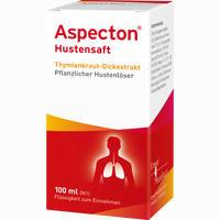 Abbildung von Aspecton Hustensaft  100 ml