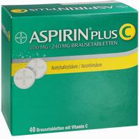 Abbildung von Aspirin Plus C Brausetabletten 40 Stück