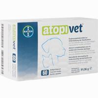 Abbildung von Atopivet Softgel- Kapseln für Hunde und Katzen  60 Stück