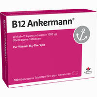 Abbildung von B12 Ankermann Dragees 100 Stück
