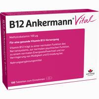 Abbildung von B12 Ankermann Vital Tabletten 100 Stück