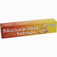 Abbildung von Bäuchlein- Salbe Babynos  50 ml