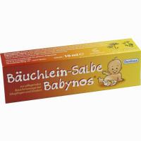 Abbildung von Bäuchlein- Salbe Babynos  10 ml