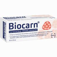 Abbildung von Biocarn Sirup 50 ml