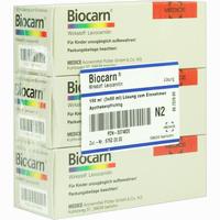 Abbildung von Biocarn Sirup 3 x 50 ml