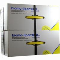 Abbildung von Biomo Lipon 600mg Infusions Set Ampullen 10 Stück