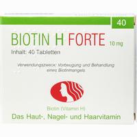 Abbildung von Biotin H Forte Tabletten  40 Stück