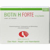 Abbildung von Biotin H Forte Tabletten 120 Stück