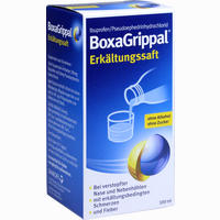 Abbildung von Boxagrippal Erkältungssaft Suspension 100 ml