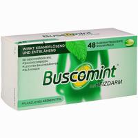 Abbildung von Buscomint bei Reizdarm 0.2ml Magensaftresistente Weichkapseln 48 Stück