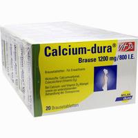 Abbildung von Calcium- Dura Vit D3 Brause 1200mg/800i.e. Brausetabletten 120 Stück
