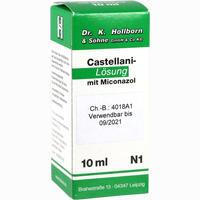 Abbildung von Castellani- Lösung mit Miconazol  10 ml