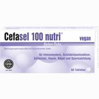 Abbildung von Cefasel 100 Nutri Selen- Tabs Tabletten 60 Stück