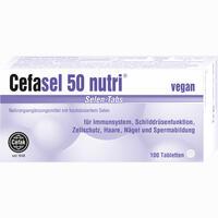 Abbildung von Cefasel 50 Nutri Selen- Tabs Tabletten 100 Stück