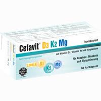 Abbildung von Cefavit D3 K2 Mg 7.000 I.e. Hartkapseln 60 Stück