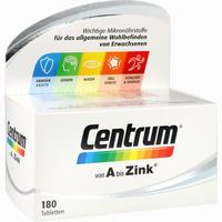 Abbildung von Centrum A Bis Zink Tabletten 180 Stück