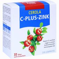 Abbildung von Cerola C Plus Zink Taler 32 Stück