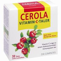 Abbildung von Cerola Vitamin- C- Taler Grandel  32 Stück