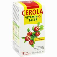 Abbildung von Cerola Vitamin- C- Taler Grandel 16 Stück