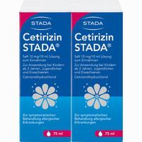 Abbildung von Cetirizin Stada Saft  150 ml