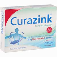 Abbildung von Curazink Kapseln 20 Stück