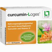 Abbildung von Curcumin- Loges Kapseln  120 Stück