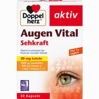 Abbildung von Doppelherz Augen Vital Sehkraft Aktiv Kapseln 30 Stück