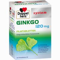 Abbildung von Doppelherz Ginkgo 120 Mg System Filmtabletten 120 Stück