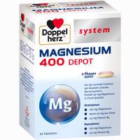 Abbildung von Doppelherz Magnesium 400 Depot System Tabletten 60 Stück