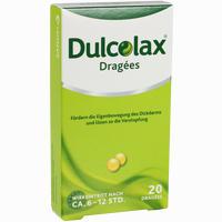 Abbildung von Dulcolax Dragees Tabletten 20 Stück
