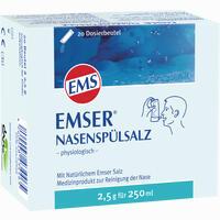 Abbildung von Emser Nasenspülsalz Physiologisch im Beutel Pulver 20 Stück