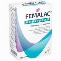 Abbildung von Femalac Bakterien- Blocker Pulver 10 Stück