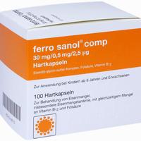 Abbildung von Ferro Sanol Comp Kapseln 100 Stück