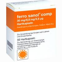Abbildung von Ferro Sanol Comp Kapseln 50 Stück