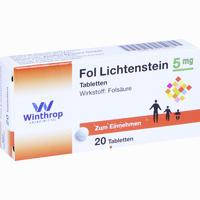 Abbildung von Fol Lichtenstein Tabletten  20 Stück