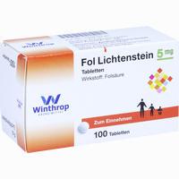 Abbildung von Fol Lichtenstein Tabletten 100 Stück