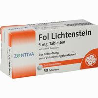 Abbildung von Fol Lichtenstein Tabletten  50 Stück