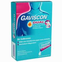 Abbildung von Gaviscon Dual 500mg/213mg/325mg Suspension  12 x 10 ml