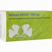 Abbildung von Ginkgo- Adgc 120 Mg Filmtabletten 60 Stück