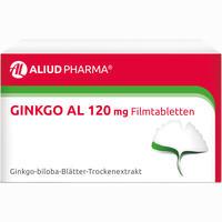 Abbildung von Ginkgo Al 120 Mg Filmtabletten  30 Stück