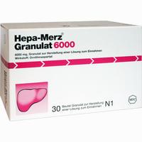 Abbildung von Hepa Merz Granulat 6000  30 Stück