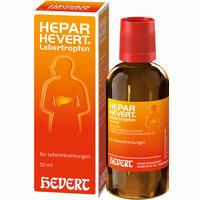 Abbildung von Hepar- Hevert Lebertropfen  50 ml